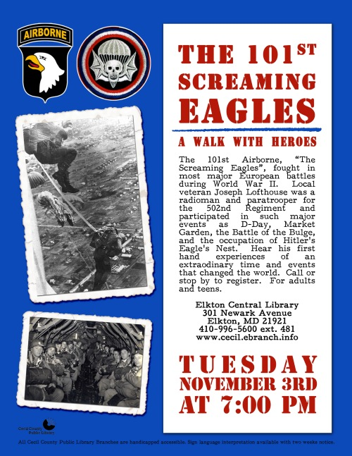 Screaming Eagles War program