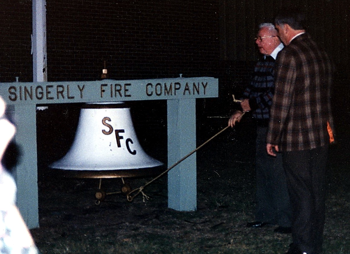 Elkton's Old Fire Bell Tapped Out Many Alarms