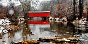 covered bridge 136a