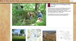 War of 1812 Archaeology  In Maryland and Beyond: Written by Archaeologists for Everybody