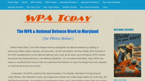 The Website WPA Today