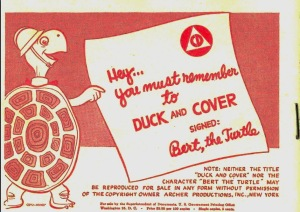 Duck & Cover Civil Defense Training Film