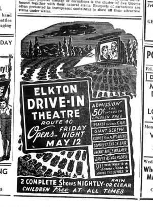 drive in 1950