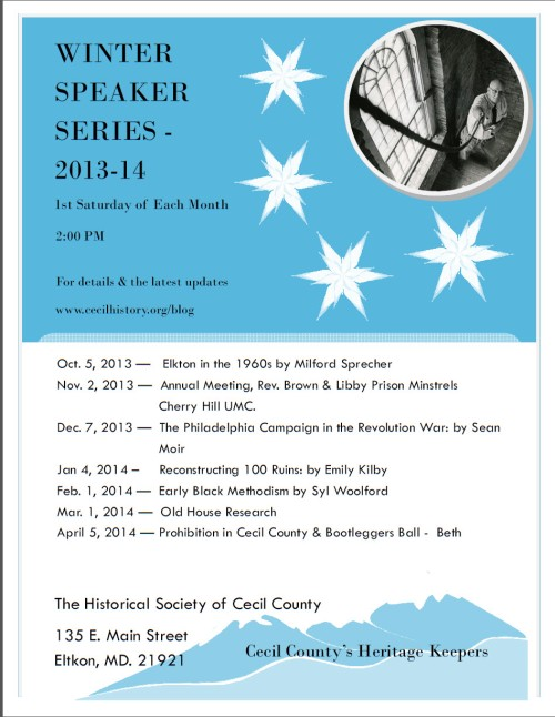 hscc winter speakers series 2013-14