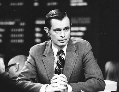 Broadcast Journalist Joe Mosbrook around 1963.