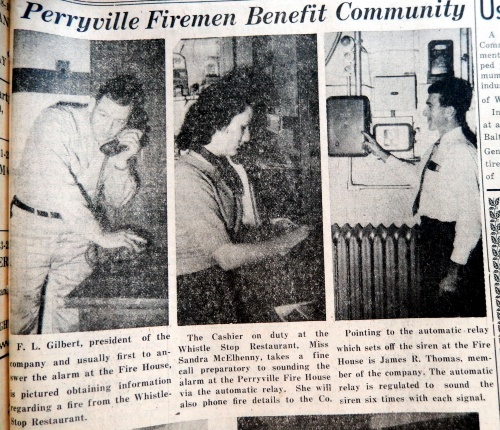 fire company perryville whig dec 1953
