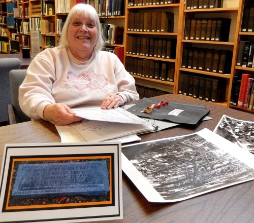 Historical Society Genealogist Billie Todd curates the Flight 214 Remembrance Archives.