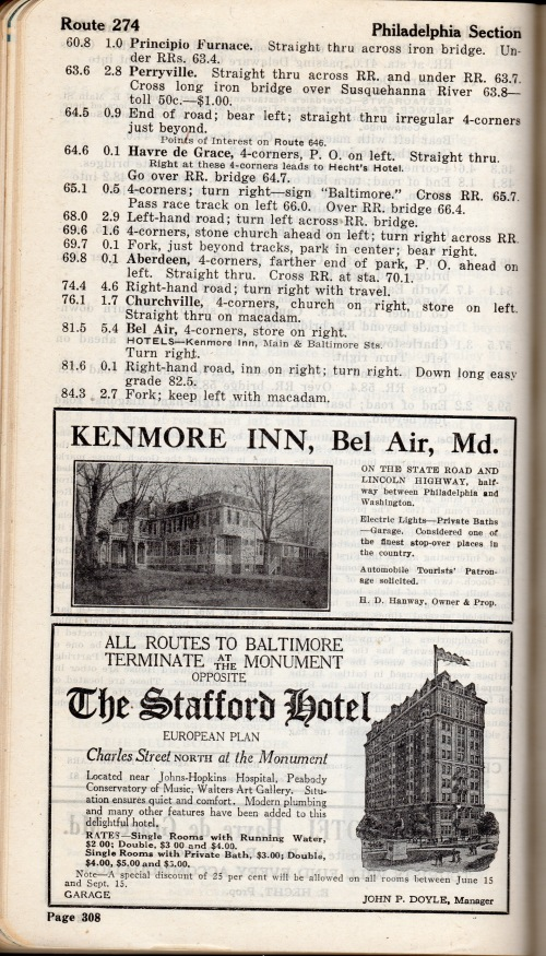 AAA Blue Book 1919.  Source:  Private Collection.