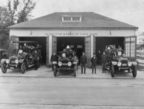 Another image of the Perry Point Fire Department from a postcard.  Circa:  1920s.  Source:  Personal Collection.