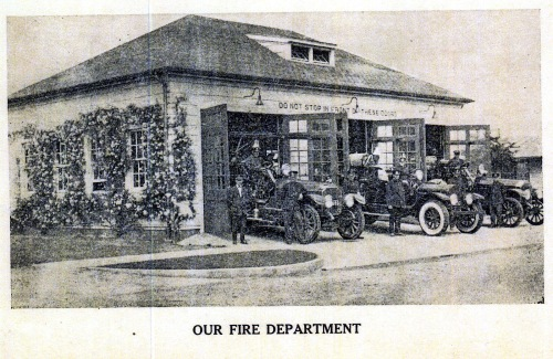 The Perry Point Fire Department, From the Perry Point Bulletin, Feb. 1930 in the collection of the Historical Society of Cecil County.