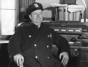 Elkton Police Chief Jake Biddle in 1935.  Source:  Baltimore Sun