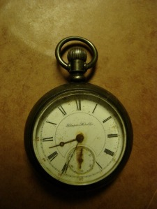 The pocket watch engineer George Askew carried on the fatal run between Baltimore and Philadelphia.  source:  Lance McPherseon