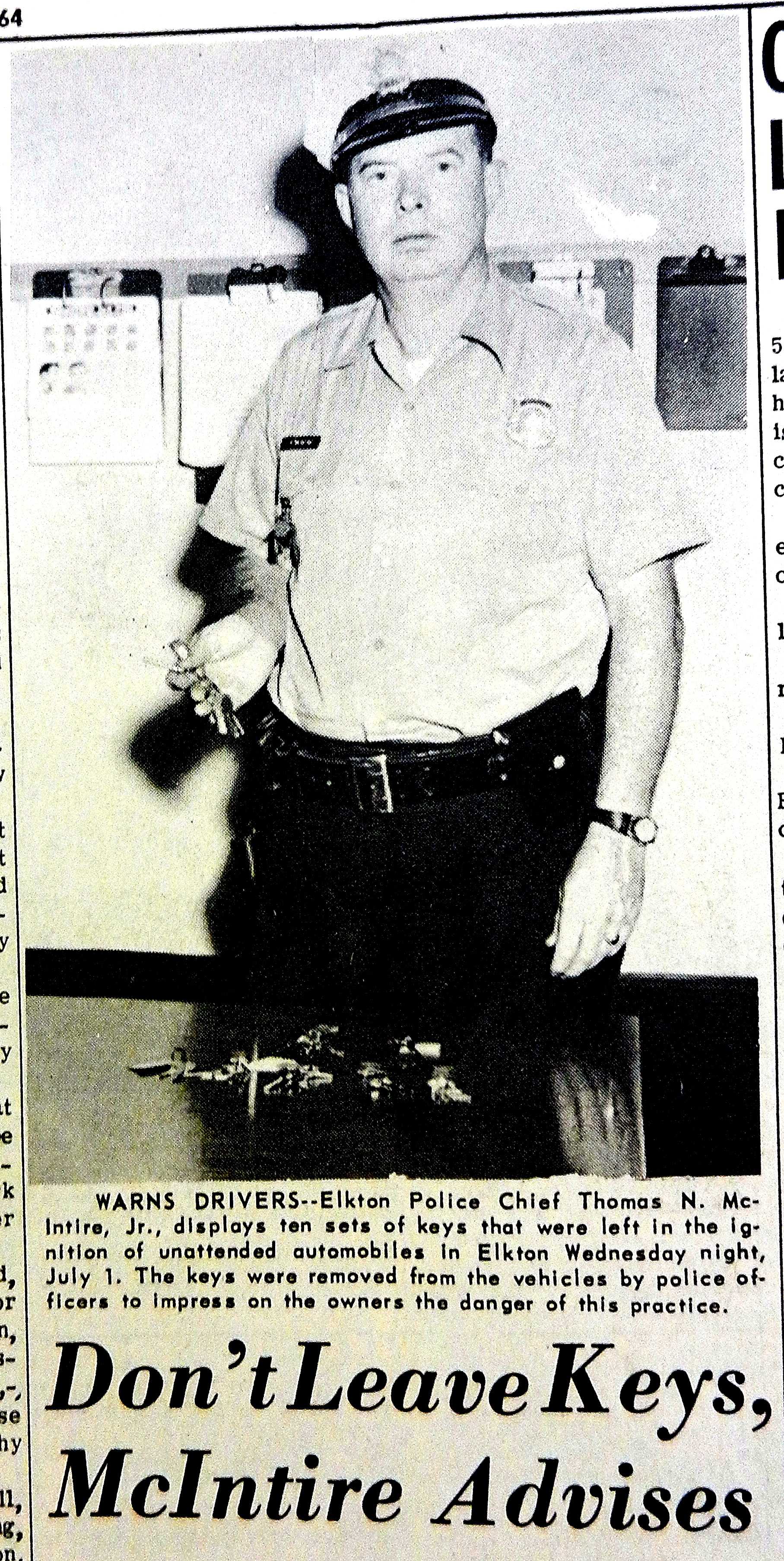 elkton police Archives - Window on Cecil County's Past