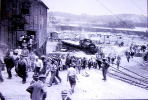 Workers at the Conowingo Dam. source: Conowingo Visitors Center