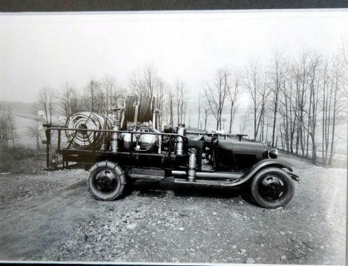 Conowingo Dam Fire Truck